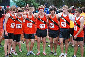Ripon cross country team finishes 15th at state
