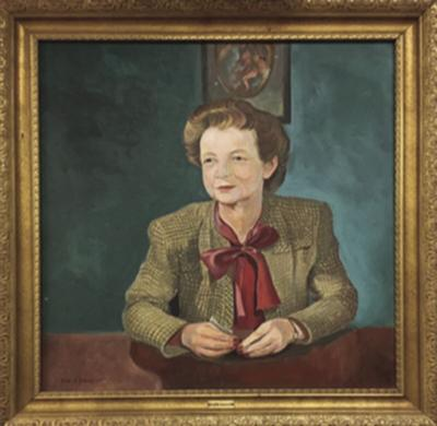 Portrait of Alice Callan by Lester Schwartz