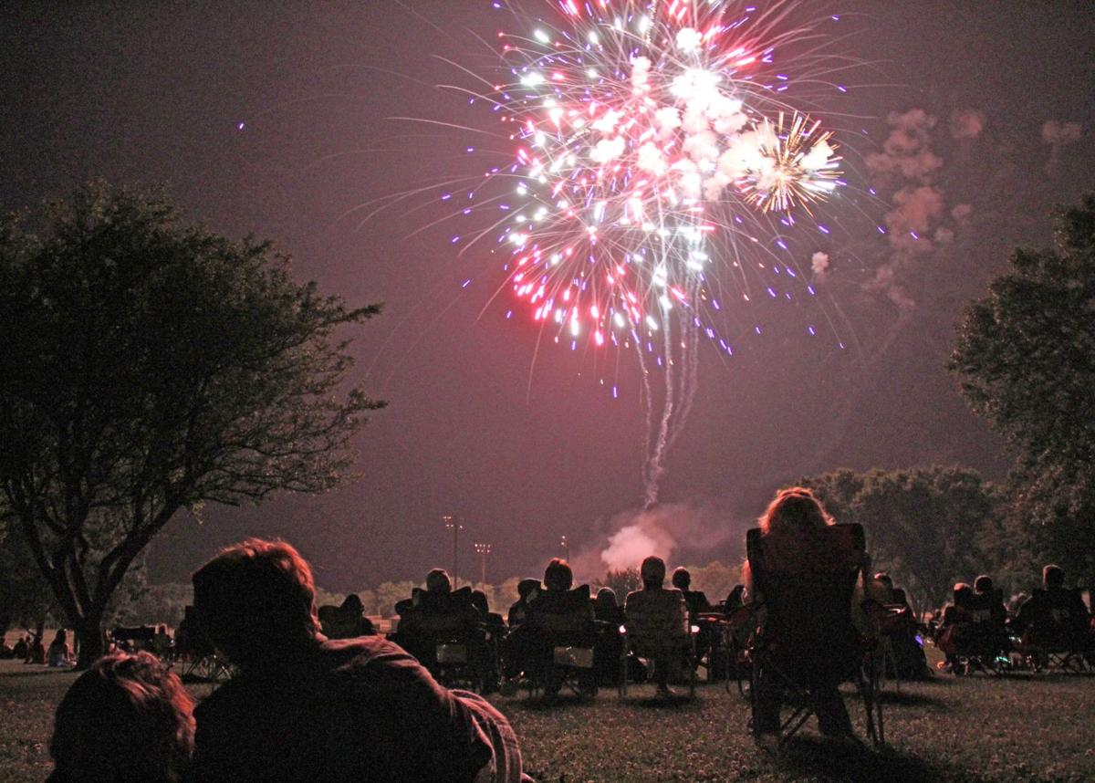 Fireworks at Murray Park