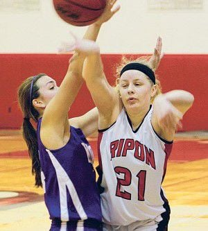 College basketball: Ripon women eclipse the century mark in win over Knox