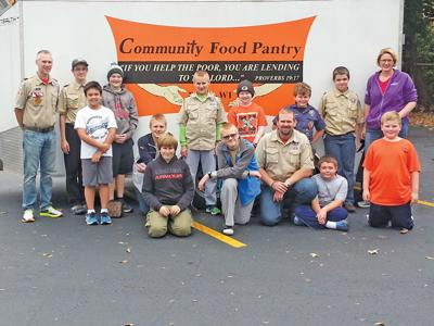 Letter: Ripon Scouts collect about 3,000 pounds in food