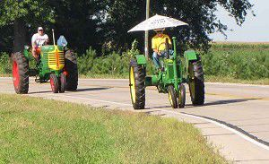 Area tractor cruse returns this month