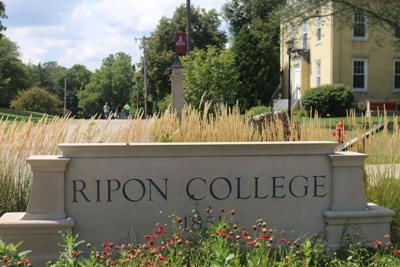 Ripon College sign