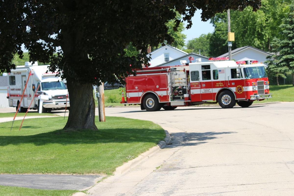 Ripon Middle School gas leak-1
