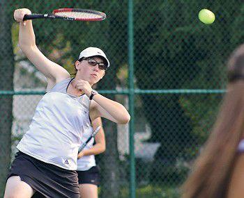 Ripon netters sweep top-three singles positions, fall to Kewaskum