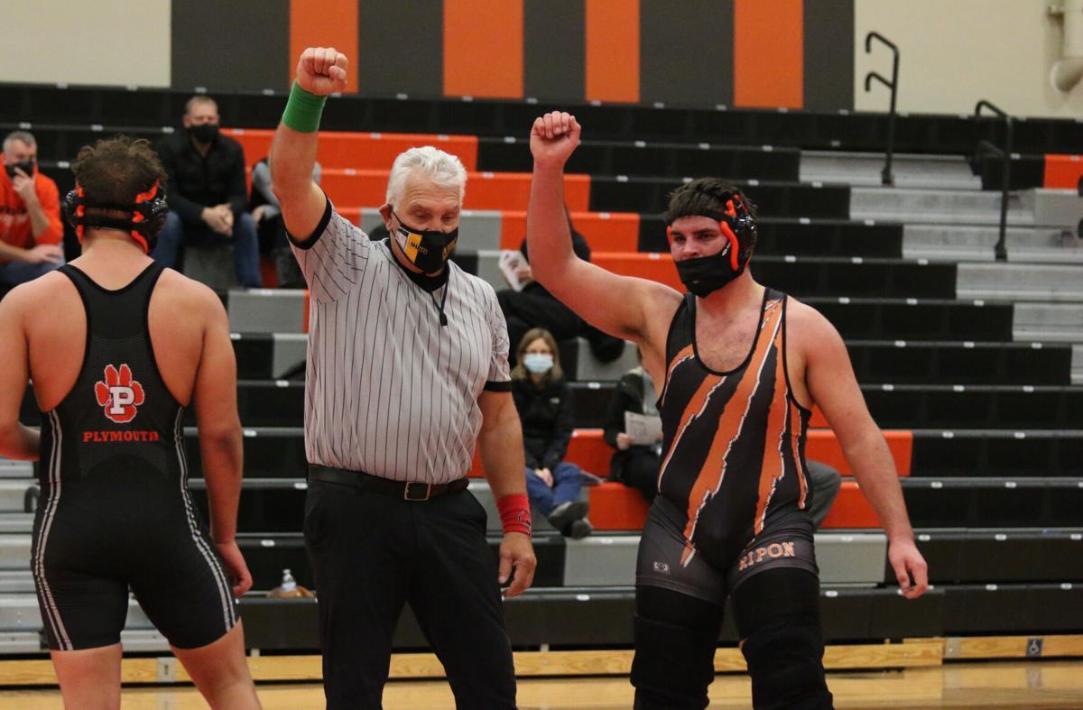 RHS wrestling vs. Plymouth-2