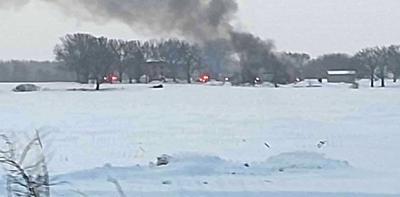 County Road E Fire