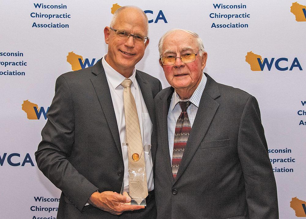 Ripon chiropractor earns Lifetime Achievement Award