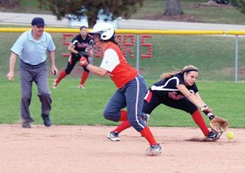Red Hawk softball team swept by Carthage in non-conference doubleheader