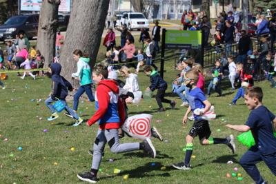 PHOTO GALLERY: Green Lake Rotary's Easter egg hunt brightens Deacon Mills
