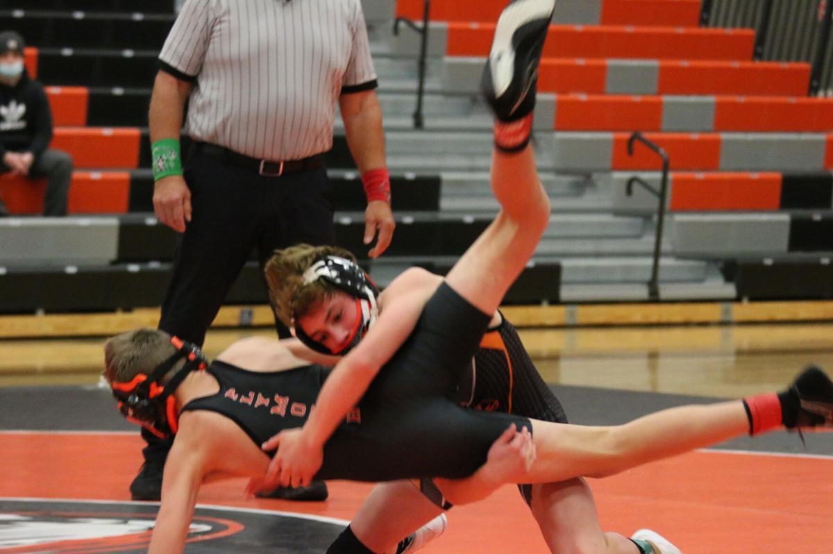 RHS wrestling vs. Plymouth-1
