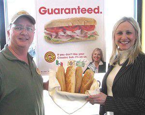 Cousins president visits Ripon, offers sandwich guarantee