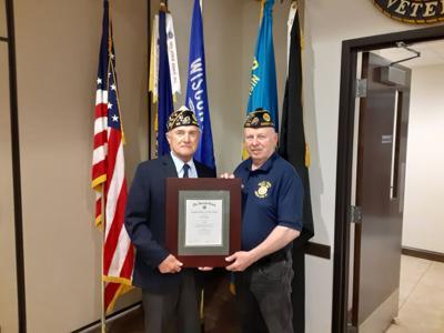 Mark Kramer named American Legion Sixth District Legionnaire of the Year