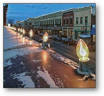 Main Street replacing downtown lights