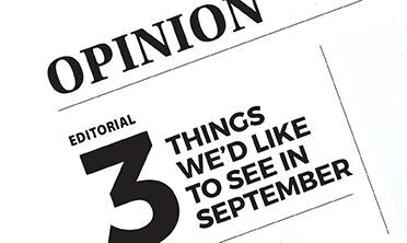 Editorial RTSA: 3 things we'd like to see in September