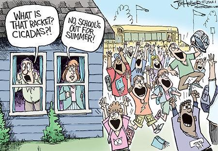 Editorial Cartoon Joe Heller School's out.jpg
