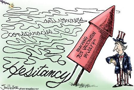 Editorial cartoon Joe Heller Fourth vaccine hesitancy.jpg
