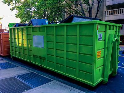 Green Dumpster RTSA