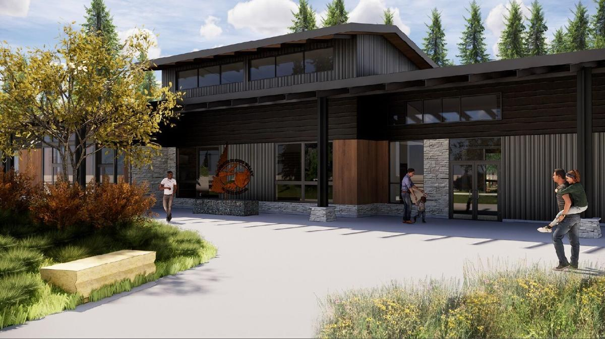 Carpenter Nature Center visitors center