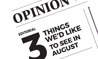 Editorial RTSA: 3 things we'd like to see in August