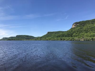 Big Lake on the Mississippi River