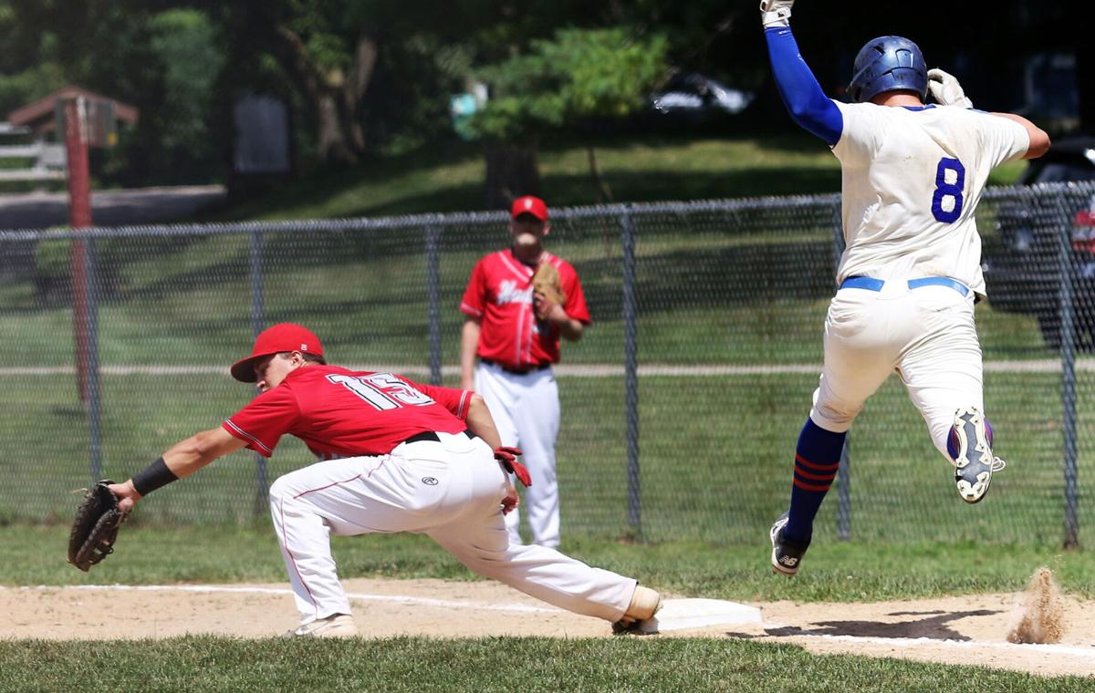 Hudson first baseman Isaiah Grancorvitz