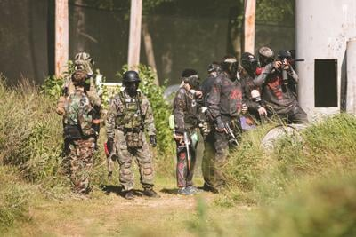 Vintage Paintball event
