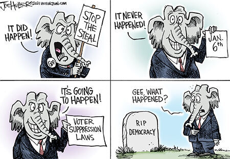 Editorial cartoon Joe Heller democracy.jpg