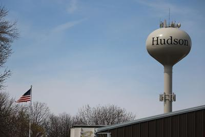 Hudson water tower horizontal
