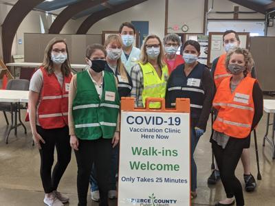 Covid-19 Vaccination Clinic in Pierce County