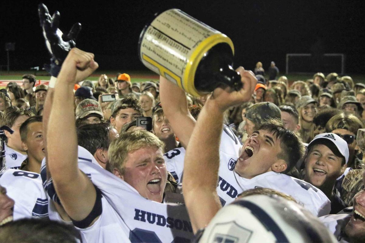 Hudson celebrates