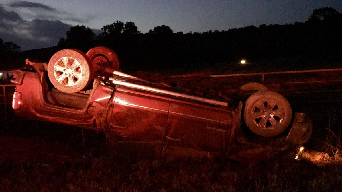 Driver recovering after truck flips several times in crash on