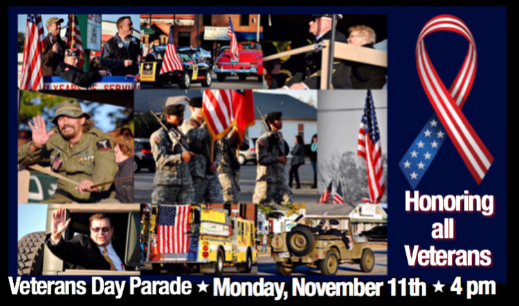 Russellville Veterans Day Parade scheduled for Monday, November 11 at 4 p.m.