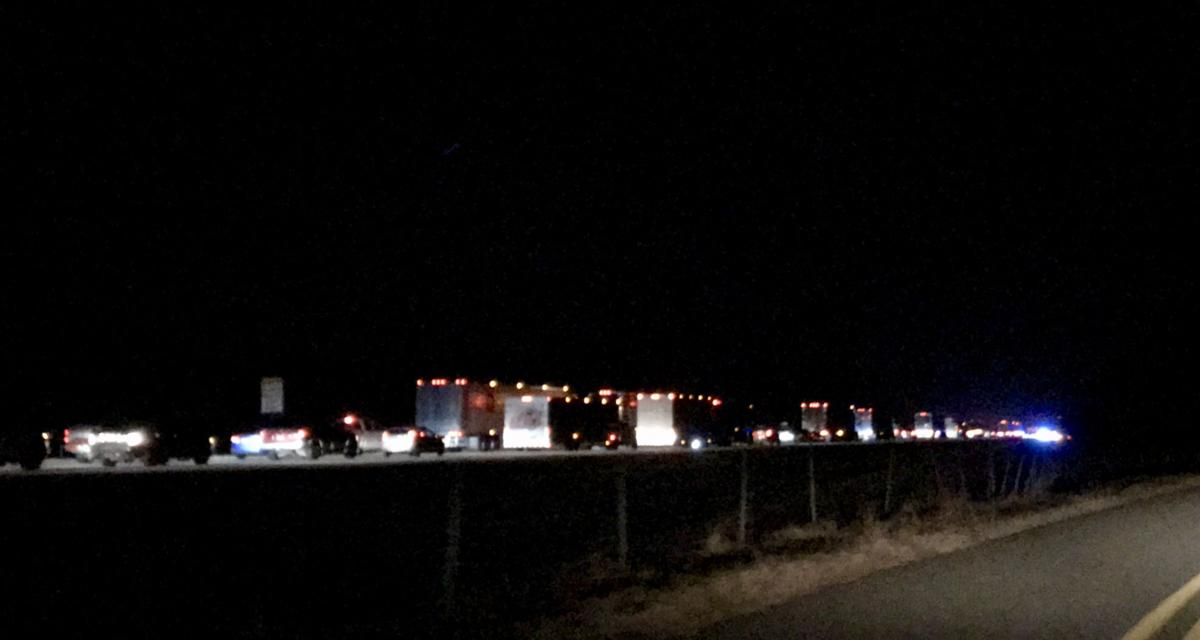 Arkansas State Police shut down I-40 following two collisions in Conway County