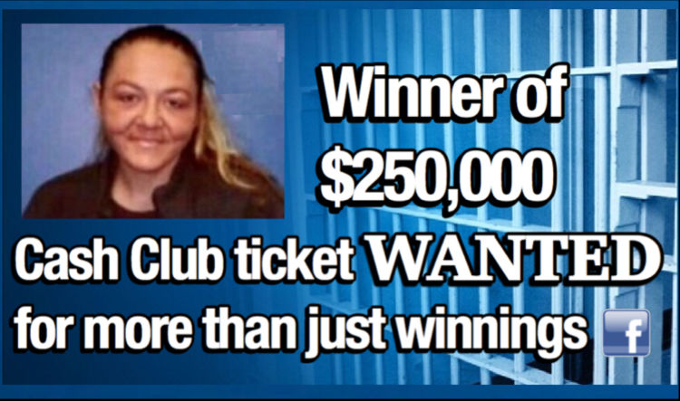 Winner of $250,000 Cash Club ticket WANTED for more than just winnings