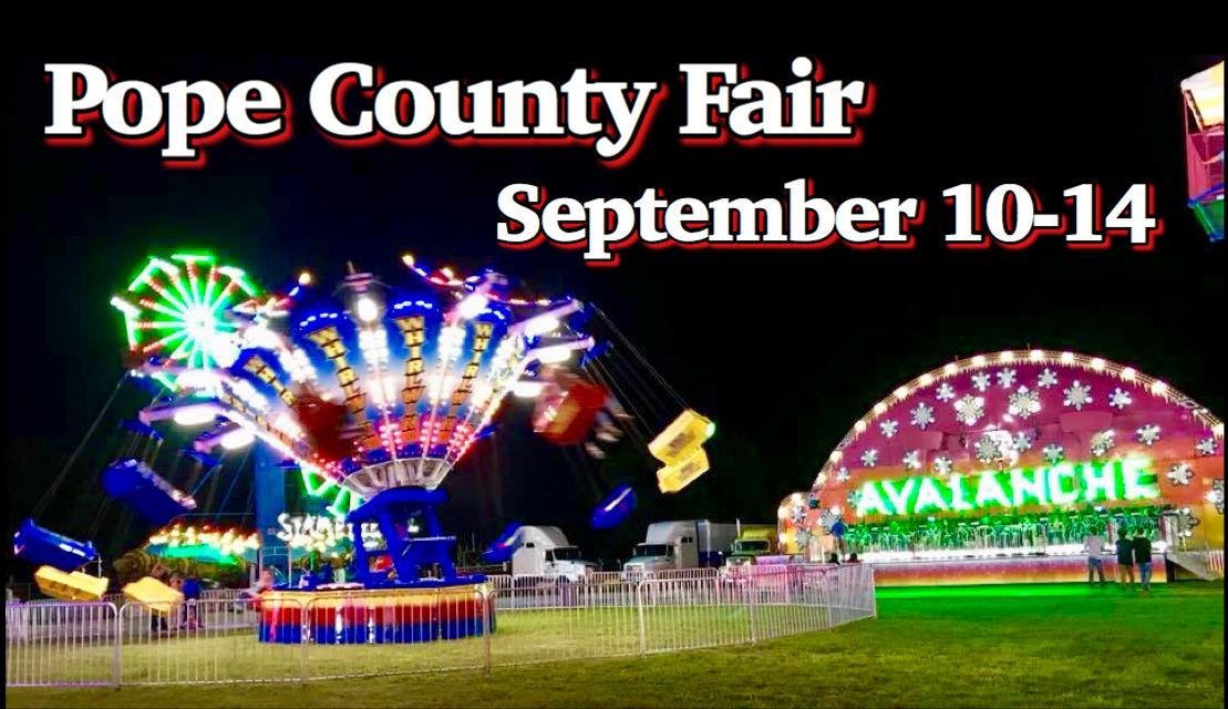 Pope County Fair September 10-14