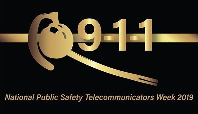In honor of dispatchers in the River Valley during National Public Safety Telecommunicators Week