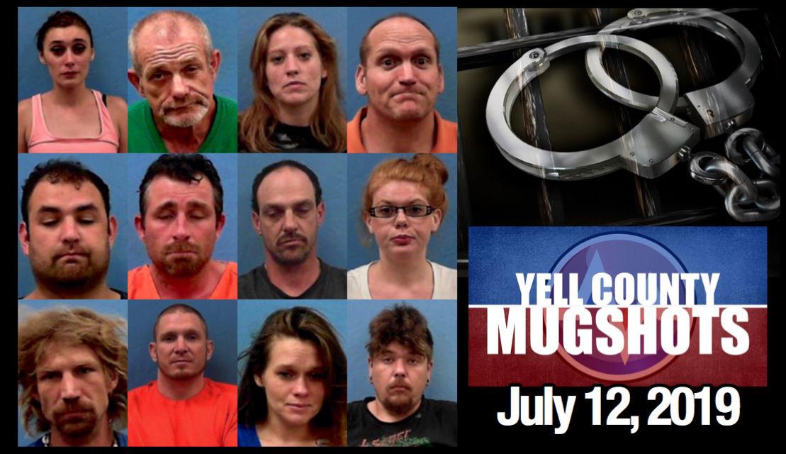 Yell County Mugshots - July 12, 2019 | Local News