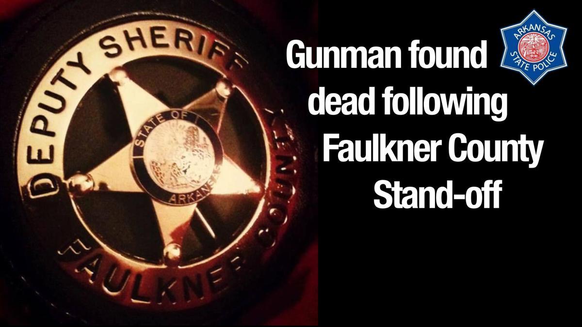 Gunman found dead following Faulkner County Stand-off