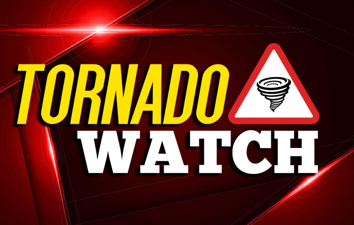 Tornado Watch issued until 7 p.m.
