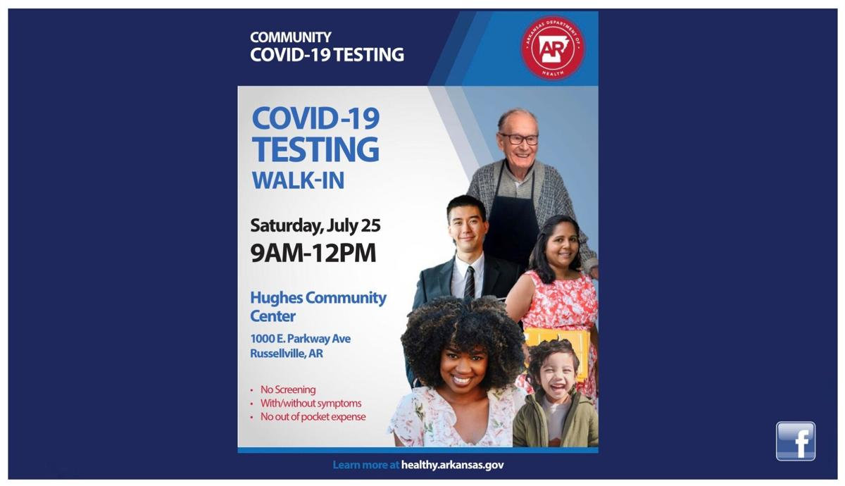 COVID-19 testing clinic planned in Russellville