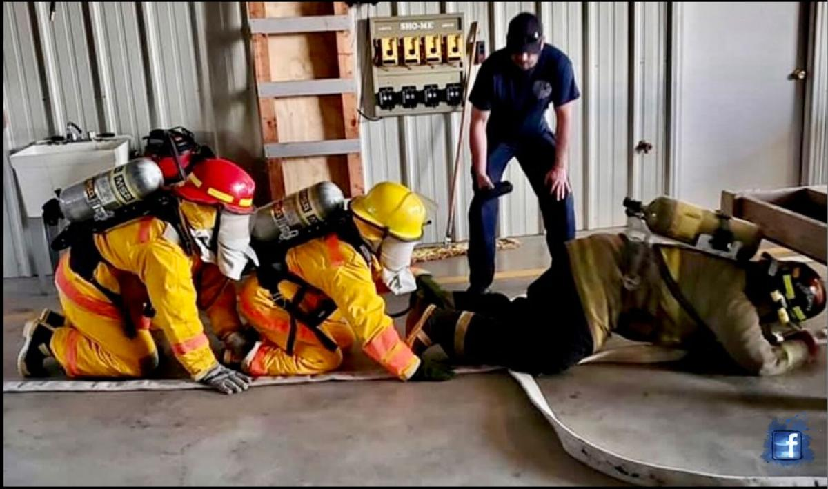 Yell County firefighters receive certifications after completing 'Introduction to Firefighting'