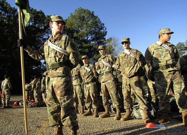 Russellville High School's JROTC receive top award in DeGray Lake Orienteering and Ruck March Competition