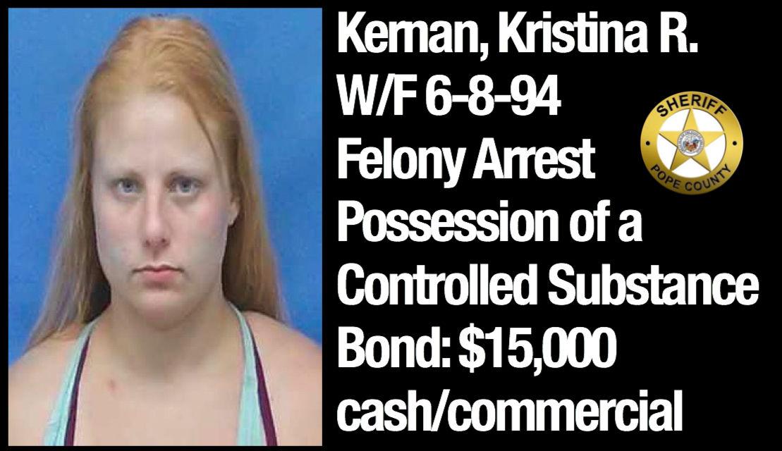 Bond Hearings Pope County Felony Arrests August 12 14