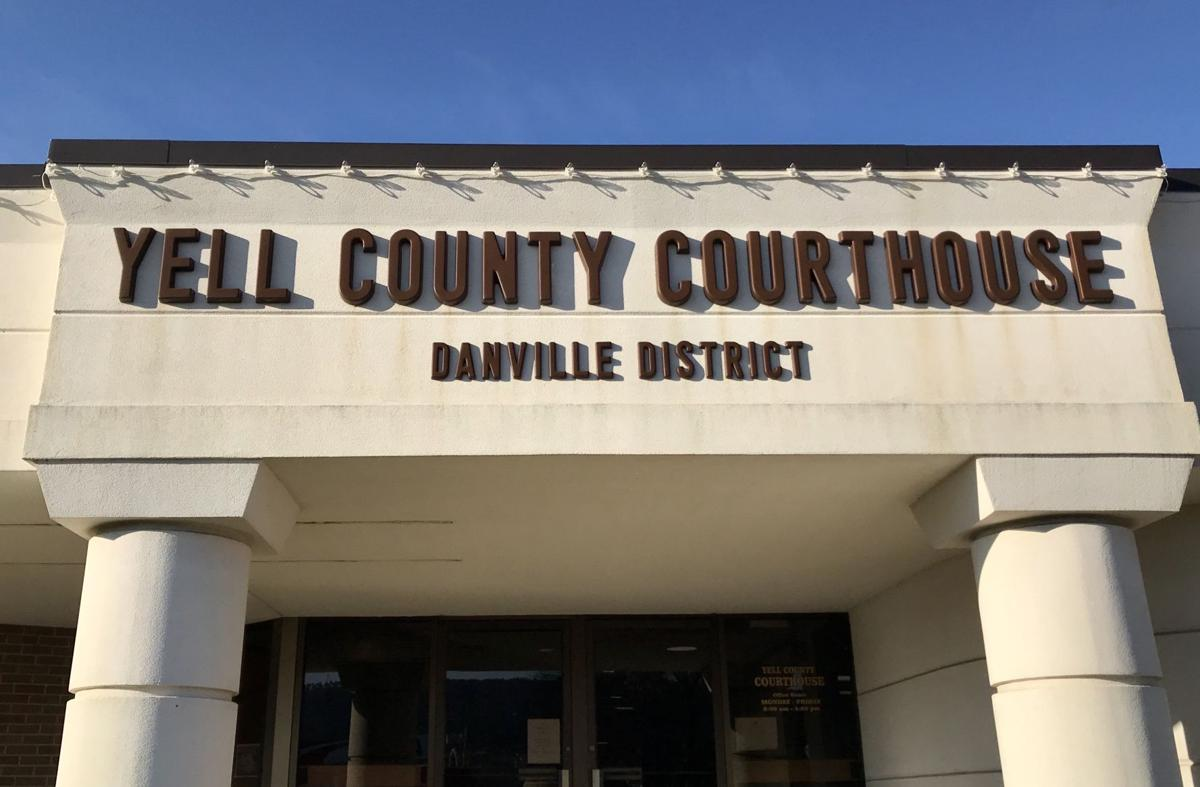 Yell County Courthouse in Danville