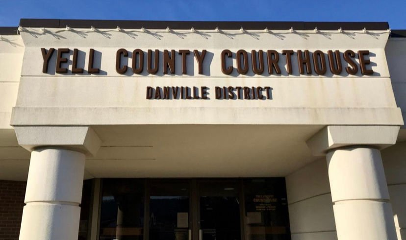 Offices in Yell County Courthouses in Dardanelle and Danville closed to public