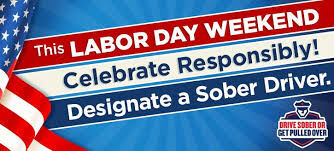 Planning a Labor Day getaway?  Start with Drive Sober or Get Pulled Over