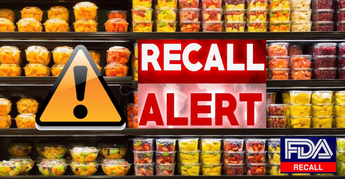 Fresh cut melon products recalled due to possible health risk;93 illnesses to the strain of Salmonella under investigation