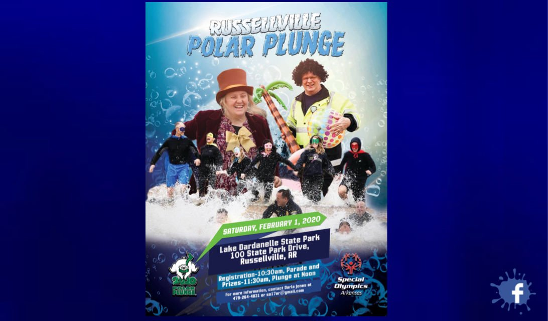 2020 Polar Plunge set for Saturday, February 1 at Lake Dardanelle State Park