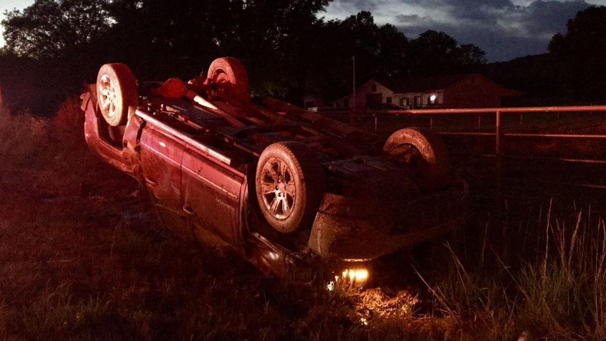 Driver recovering after truck flips several times in crash